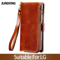 for LG V30 V40 V50 ThinQ G6 G7 Q6 Q7 K11 K4 K8 K10 2018 Srylor 3 4 Case Multifunction Wallet Phone Bag High quality Purse