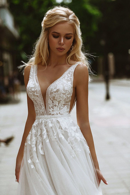 Robe de Mariage Bohème Chic Amélia