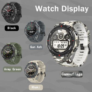 Image 4 - Amazfit T rex T רקס הגלובלי גרסה Huami Smartwatch GPS 20 ימים סוללה חיים דופק 14 ספורט מצב 5ATM