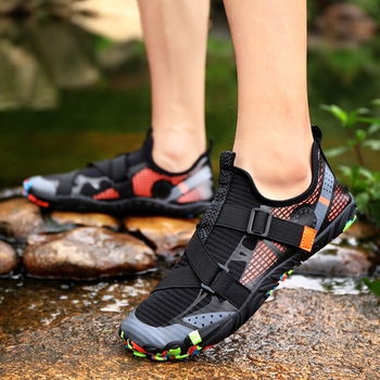 GASA buty do pływania Barefoot szybkoschnące buty buty trekkingowe buty wędkarskie buty do jogi buty na plażę buty do surfingu tanie i dobre opinie LAKEROM CN (pochodzenie) Dobrze pasuje do rozmiaru wybierz swój normalny rozmiar elastyczna opaska Szybkie suszenie RUBBER