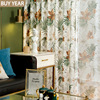 Nordic Curtains for Living Dining Room Bedroom American Pastoral Ins Wind Curtains French Window Tulle Curtains Kitchen Window
