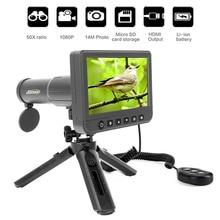 Digital Monoculars Binoculars Camera 50x 1080P Video Photo Spotting Scope Recorder Portable Telescope