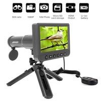 Digital Monoculars Binoculars Camera 50x 1080P Video Photo Spotting Scope Recorder Portable Digital Camera Telescope