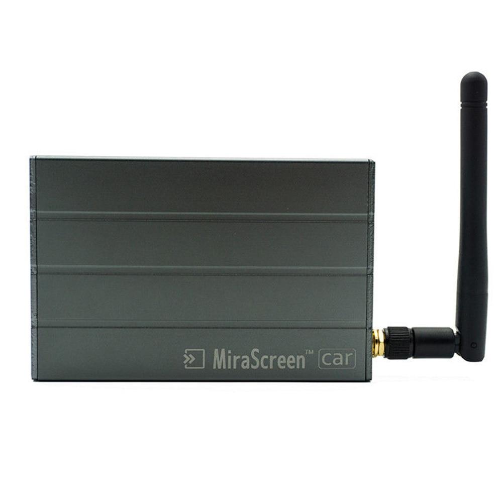 Offre spéciale nouvelle voiture WiFi affichage miroir lien boîte adaptateur DLNA Airplay pour Android IOS TV bâtons livraison directe