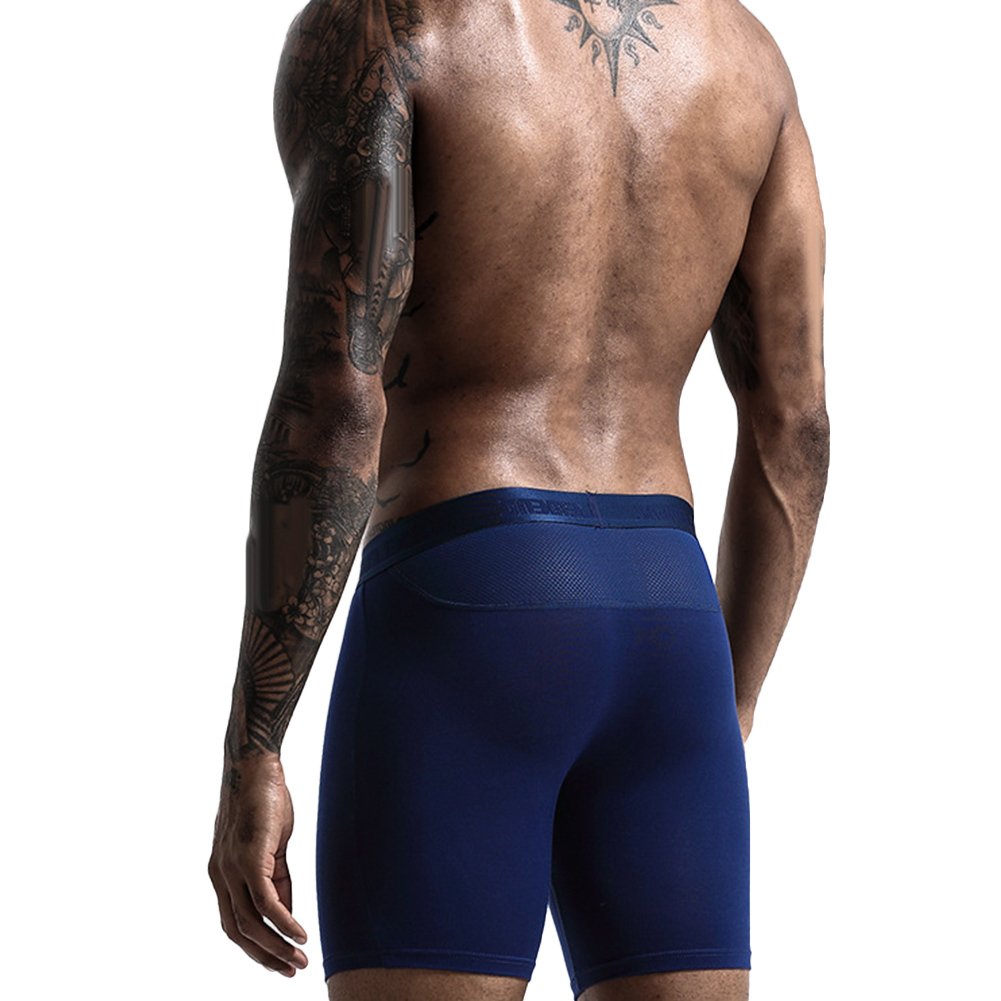 Men Quick Dry Elastic Training Fitness Trunks Compression Exercise Sports Shorts 5