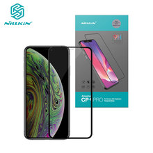 Tempered Glass For iPhone 12 Mini 11 Pro Max XR X Xs Max Nillkin CP+ Full Glue Screen Protector For iPhone 11 Glass
