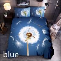 Dandelion Printing Bedding Set Duvet Cover Set 3/4pcs Soft Pillowcases Twin Queen King SIze Bedroom Decor