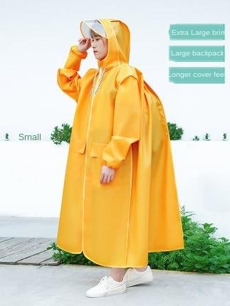 Long Transparent Raincoat Electric Motorcycle Raincoat Adult Long Coat Women Thickening Increase Rain Poncho Coat Hiking Gift 1