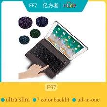 Wireless KeyboardสำหรับiPad Pro 10.5นิ้ว2017 /iPad Air 10.5 2019,ultra ThinและBacklit BluetoothสำหรับiPad 10