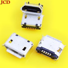 JCD New 5 Pin 5.9mm Micro USB 5pin DIP Female connector for mobilephone Mini USB jack PCB welding socket micro usb jack MOUTH(China)