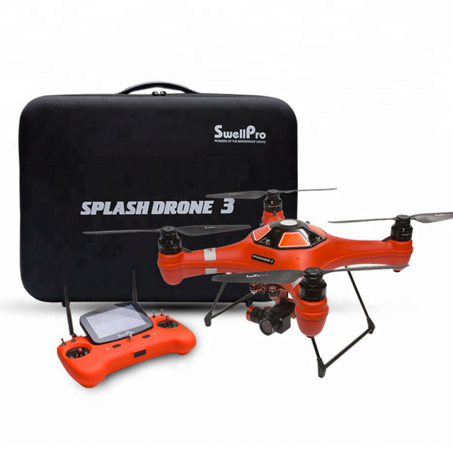 SwellPro Waterproof Drones GPS Automatic return quadcopter Professional fishing Drone 4K Camera   rc helicopter 1.6km FPV Drone