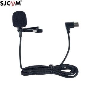 Image 5 - מקורי SJCAM SJ8 A10 אביזרי Tepy C חיצוני מיקרופון עבור SJ8 פרו/בתוספת/אוויר SJ9 שביתה/מקס פעולה מצלמה אבזרים