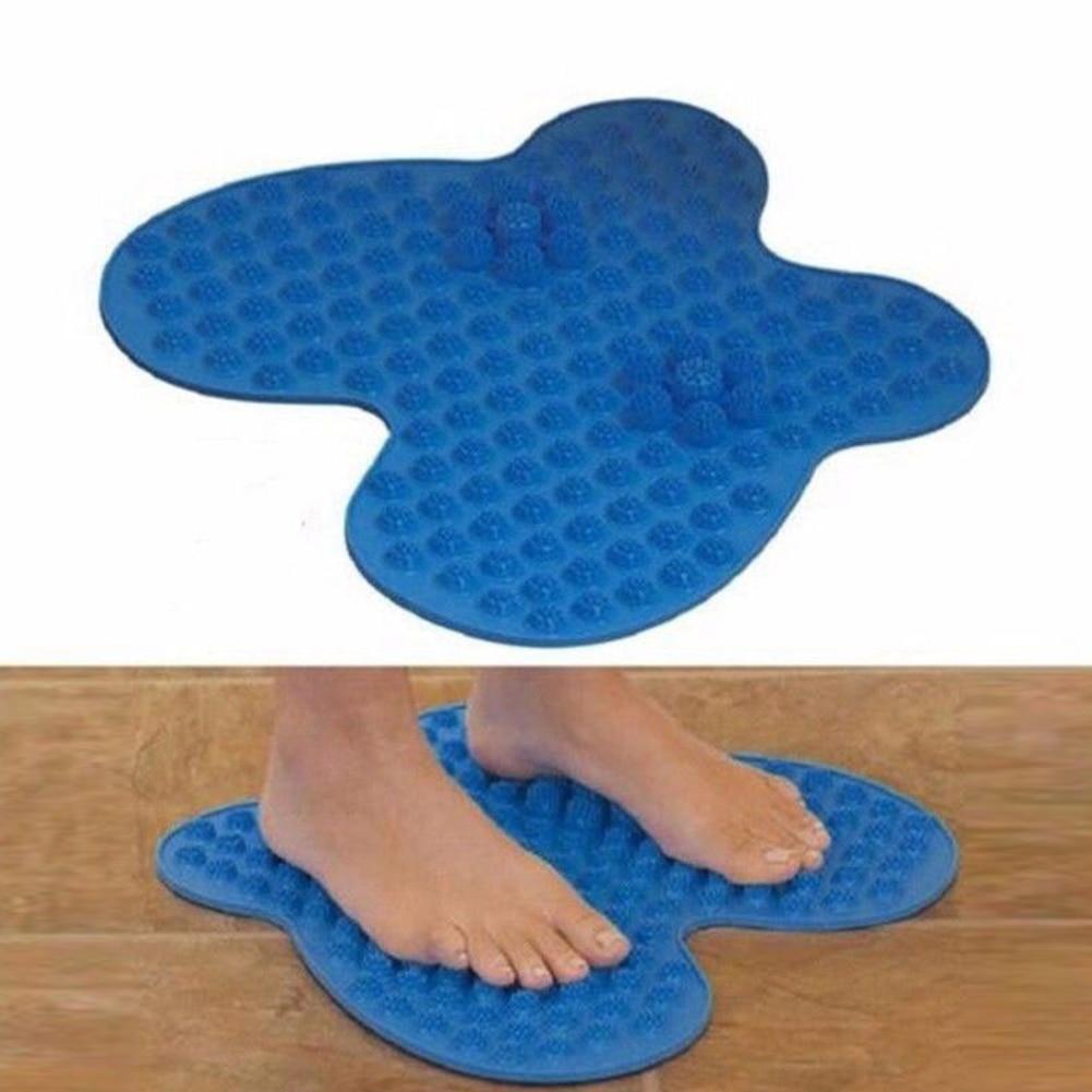 Washable Butterfly Foot Pain Relief Massage Reflexology Acupressure Mat Heal Massager