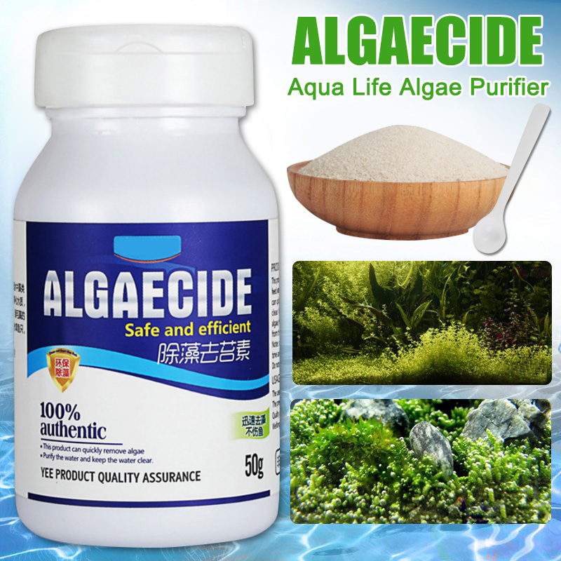 50g Algae Purifier Aquarium Safe Algae Remover Water Purification For Fish Tank DC156