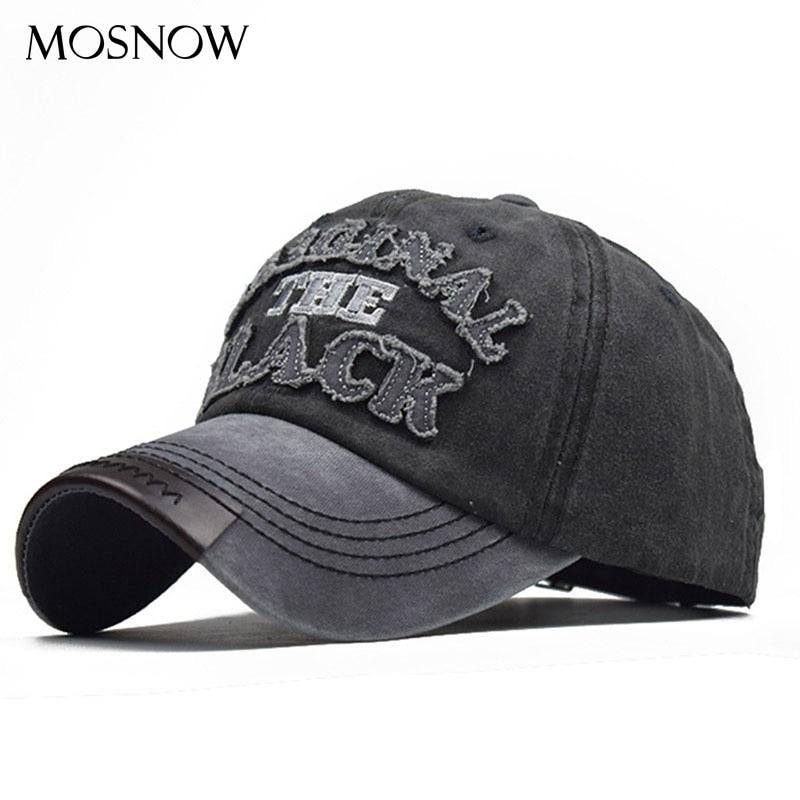 Retro Washed Baseball Cap Fitted Cap Snapback Hat For Men Unisex Casual Cap Plain Sport Hip-Hop Sun Hat Bone Panel Hat Gorras