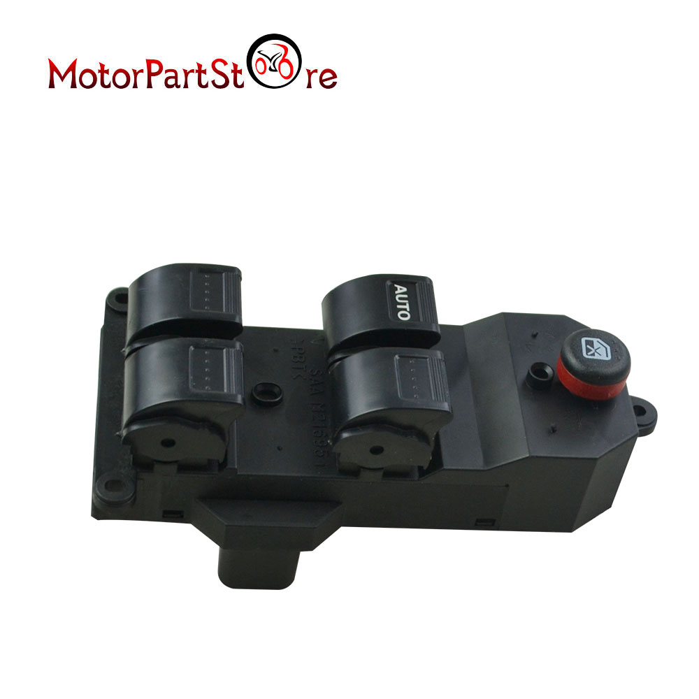 New Quality Left LH Electric Power Window Master Switch For Honda Civic 2001 2002 2003 2004 2005 35750-S5A-A02ZA 35750S5AA02ZA