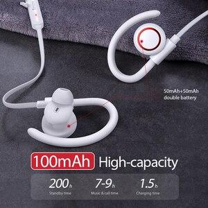Image 3 - Baseus S17 スポーツワイヤレス Bluetooth 5.0 イヤホンヘッドホン Xiaomi Iphone 耳電話イヤホンハンズフリーヘッドホンヘッド