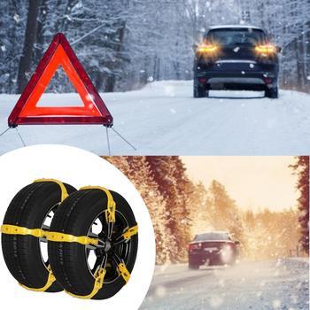 Samochodowe łańcuchy śniegowe regulowany uniwersalny antypoślizgowy łańcuch na oponę dla SU tanie i dobre opinie aiboduo CN (pochodzenie) TPU+alloy steel nail 1529kg