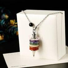 1pc delikatne kolorowe siedem wróżbiarstwa kamienne skały mineralne kryształy terapeutyczne róża kwarcowy medytacja przyjęcie świąteczne DIY prezent