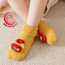 Детские рождественские носки для кукол теплые детские с оленями
