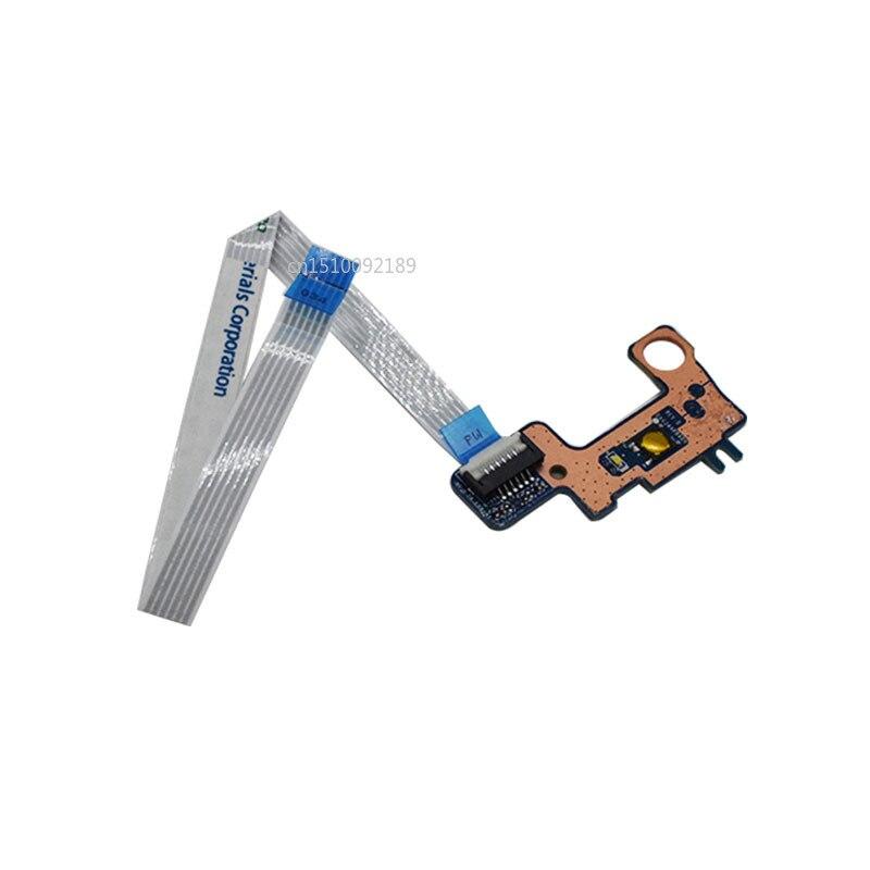 Free Shipping FOR HP Pavilion 15-AU020WM 15-AU Laptop Power Button Board W/ Cable DAG34APB6D0 Test Good