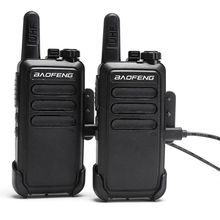 2 Pcs Baofeng BFC9 BF C9  Mini Walkie Talkie bf 888s UHF Band USB fast charge Handheld 2 Way Ham cb Radio Communicator