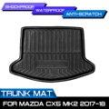Задний багажник грузового багажника для Mazda CX-5 CX5 MK2 2017 2018 автомобильный Стайлинг интерьерные аксессуары водонепроницаемый коврик противоу...