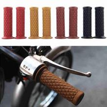 Motorcycle Grips Non Slip Rubber Bar End Thruster Grip 7/8 22mm Hand Handlebar Handle Sleeve