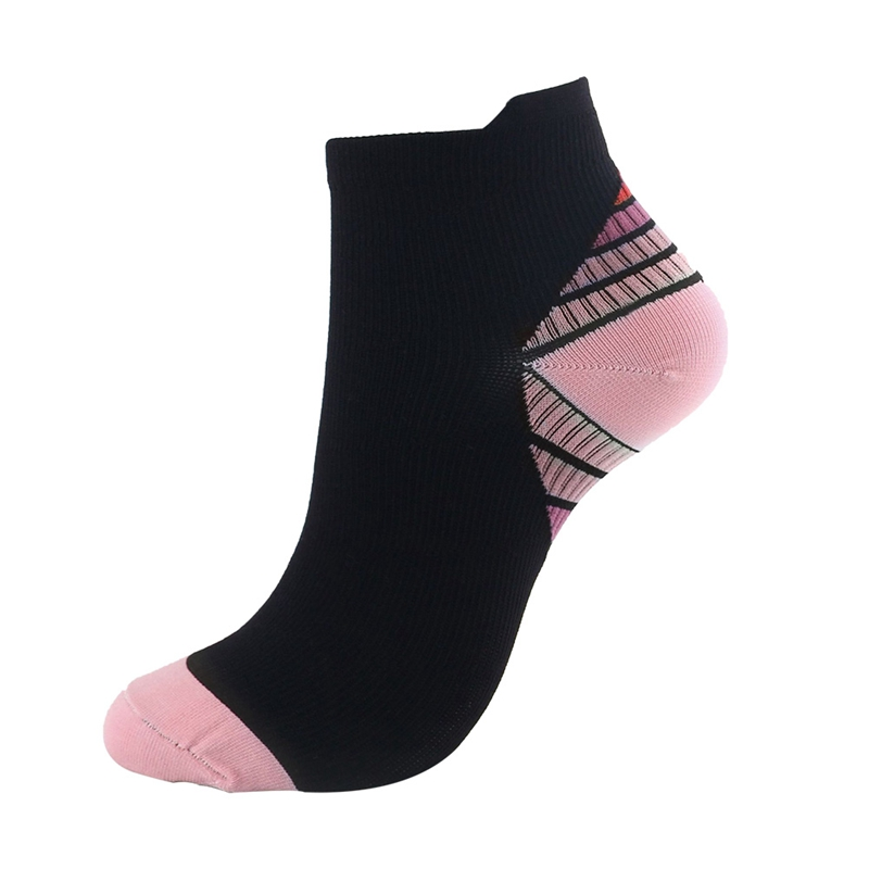 Cycling Running Compression Socks Elastic Heat Resistant Smooth Durable Printed Polyester Nylon Hosiery Footwear Accessories