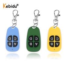 Kebidu 433.92 Mhz Duplicator Copy Code Remote Control Wireless Universal Door Duplicate Key Fob 433MHZ Cloning Gate Garage