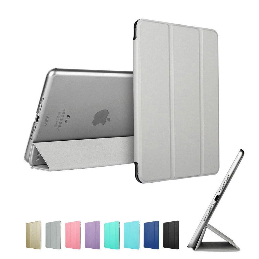 Silver Gray ESR PU multi-color Ultra Slim Light Smart Cover for iPad mini 4 2015 (A1538, A1550)