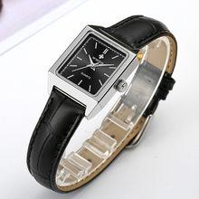 Wwoor элегантные квадратные часы для женщин топовые брендовые