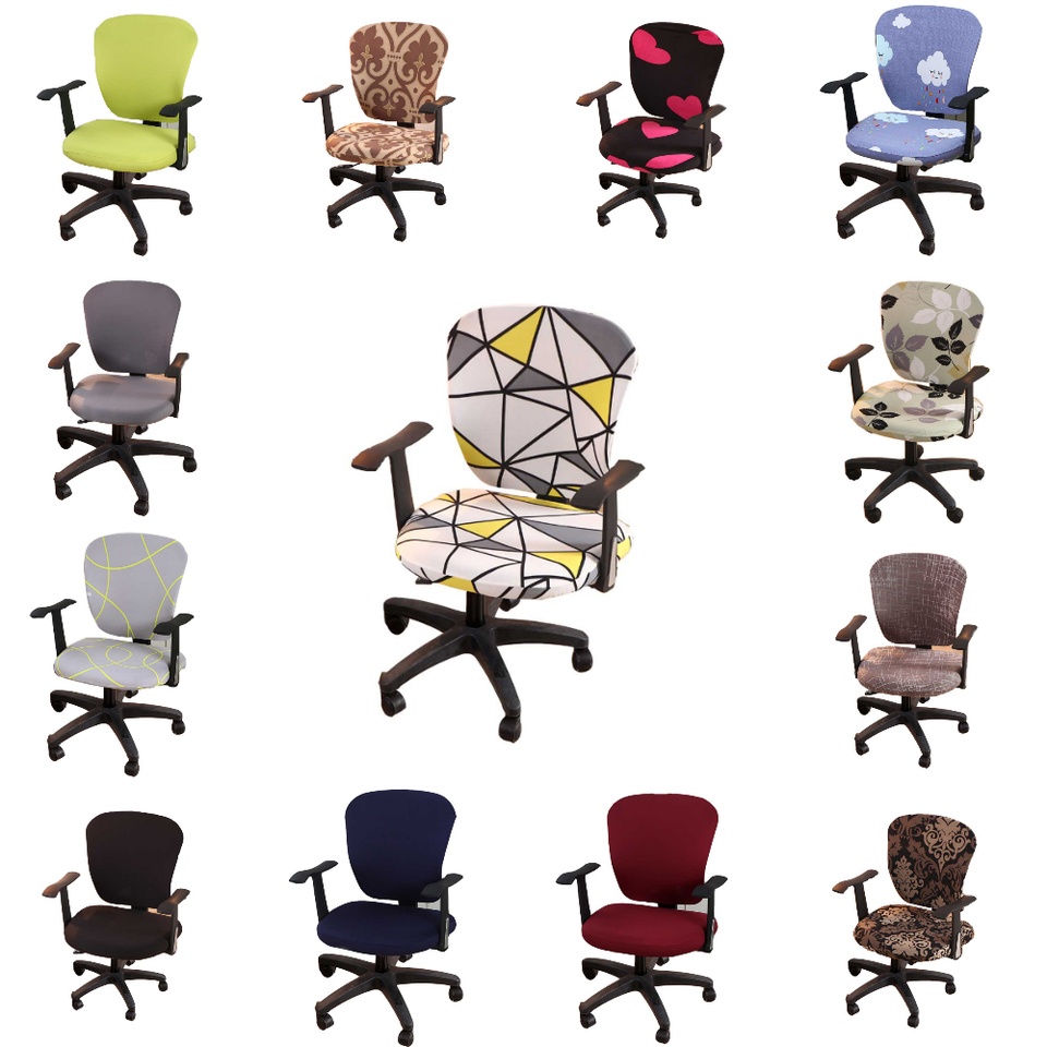 Lychee Colorful Antifouling Computer Elastic Chair Cover Stretch Chair Covers For Diy Home Kitchen Wedding Birthday Party Chair Cover Aliexpress