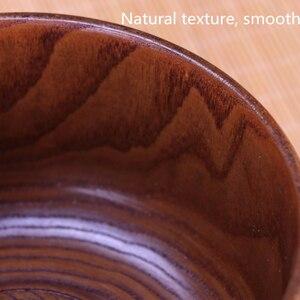 Image 2 - Creative Wooden Bowl Salad Ramen Soup Tableware Bowls Kids Food Container Instant Noodles For Kitchen Rice Tigelas Handmade