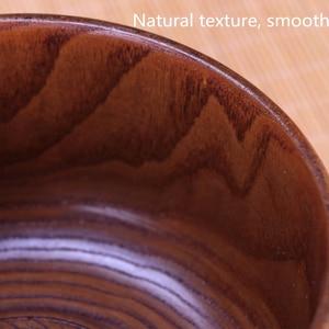 Image 2 - Sáng tạo Bằng Gỗ Tô Salad Ramen Canh Bộ Đồ Ăn Bát Ăn Trẻ Em Hộp Đựng Thực Phẩm Ăn Liền Cho Nhà Bếp Cơm Tigelas Handmade