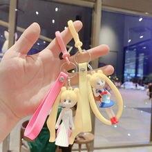 6 см брелок из Японии аниме Сейлор лулулука Милая машина Подвеска