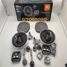 Free Shipping 4Sets JBL GTO 6508C 2-Way 6.5 Inch 70W Car Audio Door Bass Component Tweeters Speakers Kit Made In U.S.A Of Harman