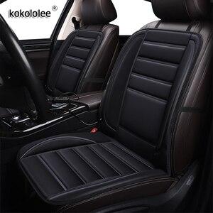 Kokololee 12v aquecida cobertura de assento do carro para kia cerato spectra sorento picanto ceed sportage rio k3 k7 k4 k5 almofadas almofada inverno