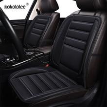 Kokololee 12V podgrzewane pokrycie siedzenia samochodu dla Mitsubishi lancer ASX carisma outlander FORTIS Galant pajero L200 poduszki zimowe poduszki