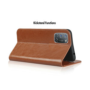 Image 5 - Echtes Leder Fall für Coque Samsung Galaxy A42 A21S A31 A51 A71 A41 A21 A01 A50 A30 A50S A40 A10 stehen Abdeckung Brieftasche Funda Tasche