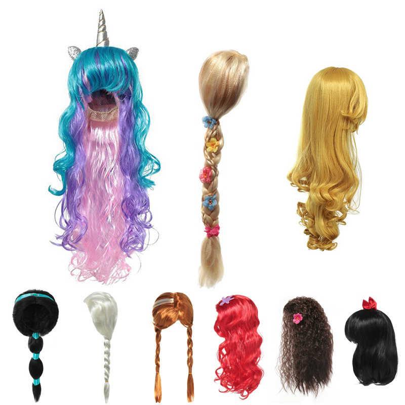 Girls Tangled Rapunzel Princess Fantasy Fairytale Child Wig One Size Accessory