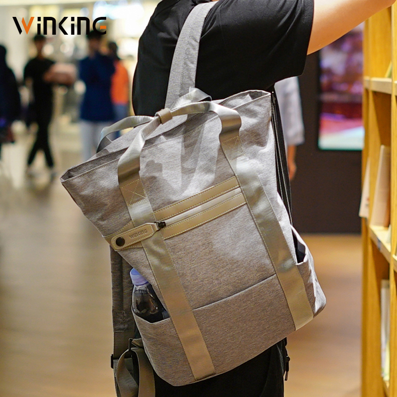 "Kingsons 15"" laptop Backpacks Male Fashional Anti Thief back Bag School Teenagers Short Trip Casual backpacks 2019 for men women"