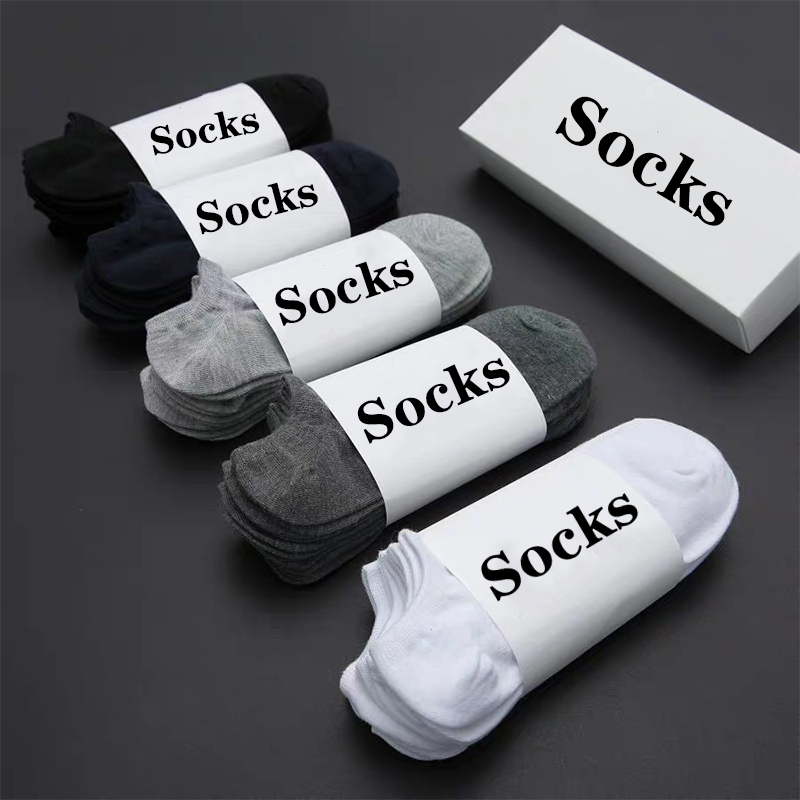 10 Pairs Women Socks Breathable Sports socks Solid Color Boat socks Comfortable Cotton Ankle Socks White Black