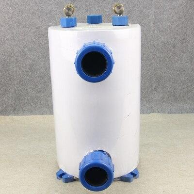 Pure Titanium Evaporator, 1HP Water Tank Cold And Warm Pure Titanium Gun, Seafood Fish Pond Evaporator.