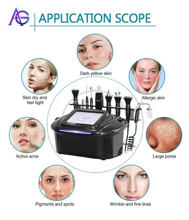 9 In 1 Active Oxygen Facial Spray Led Facial Machine For Skin Tightening Which Suitable For Home & Beauty Salons