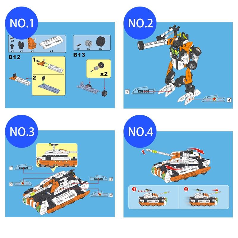 Cada 2 in 1 Deformation Robot