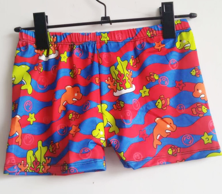 Cute Cartoon Boys'swimmingtrunks Kids Swimming Trunks Small CHILDREN'S Swimming Trunks Boxer Cartoon Swimming Trunks 3621