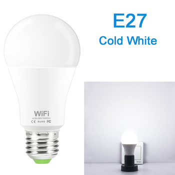 Dimmable 15W B22 E27 WiFi Smart Light Bulb LED Lamp App Operate Alexa Google Assistant Control Wake up Smart Lamp Night Light 8