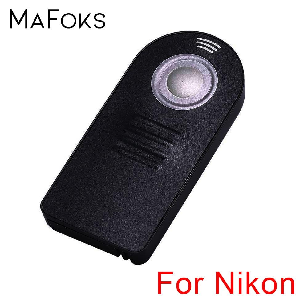 Универсальный ИК беспроводной пульт дистанционного управления для Nikon D3000 D3200 D5000 D5300 D5200 D5100 D7000 D7100 D90 D80 D60 D600 D300s