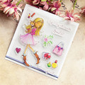 Лидер продаж, прозрачный штамп с изображением кролика для девочек, силиконовый альбом для скрапбукинга «сделай сам», изготовление открыток